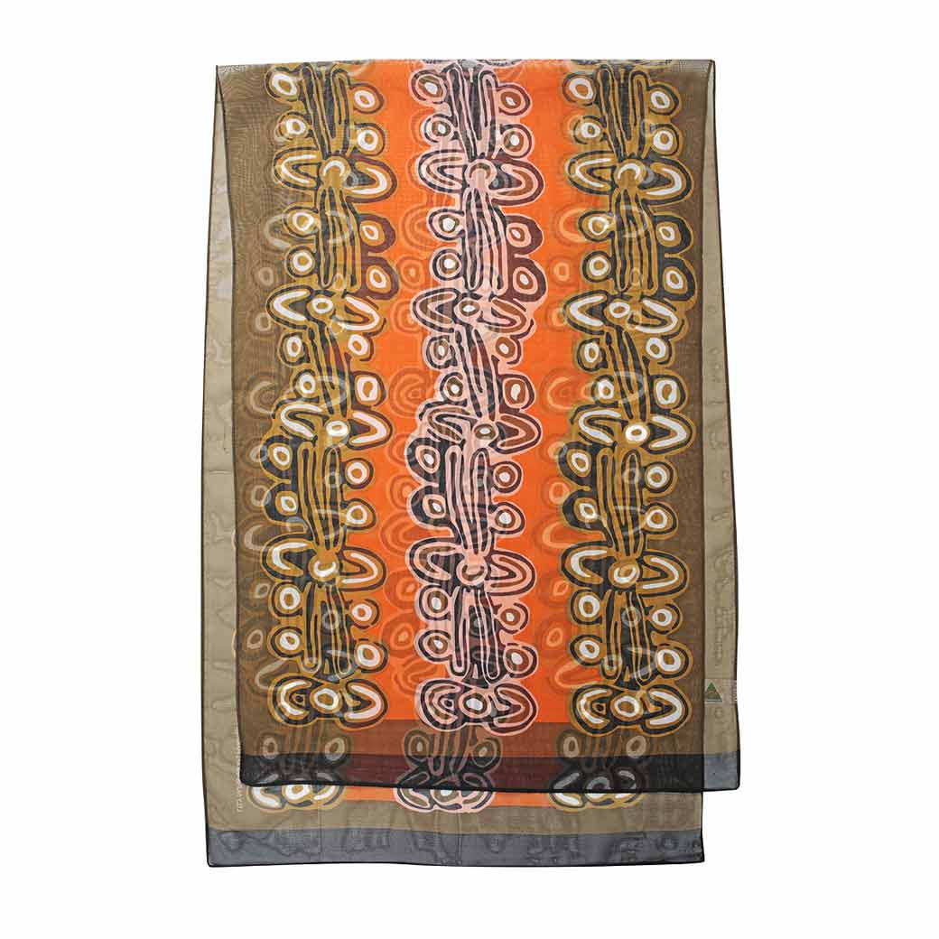 Souvenirs Sydney Aboriginal Scarf Australian Made for Women