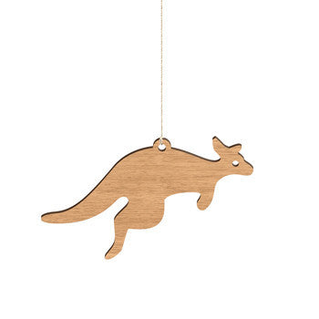 Australian Made Gifts & Souvenirs with the Kangaroo Decoration -by Byrne Woodware. For the best Australian online shopping for a Homewares - 2