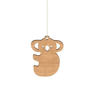 Australian Made Gifts & Souvenirs with the Koala Decoration -by Byrne Woodware. For the best Australian online shopping for a Homewares - 1
