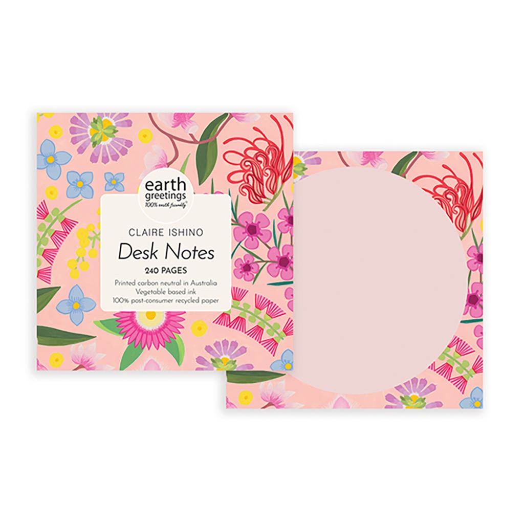 Australian Stationery Gifts Aussie Flora Desk Notes Claire Ishino