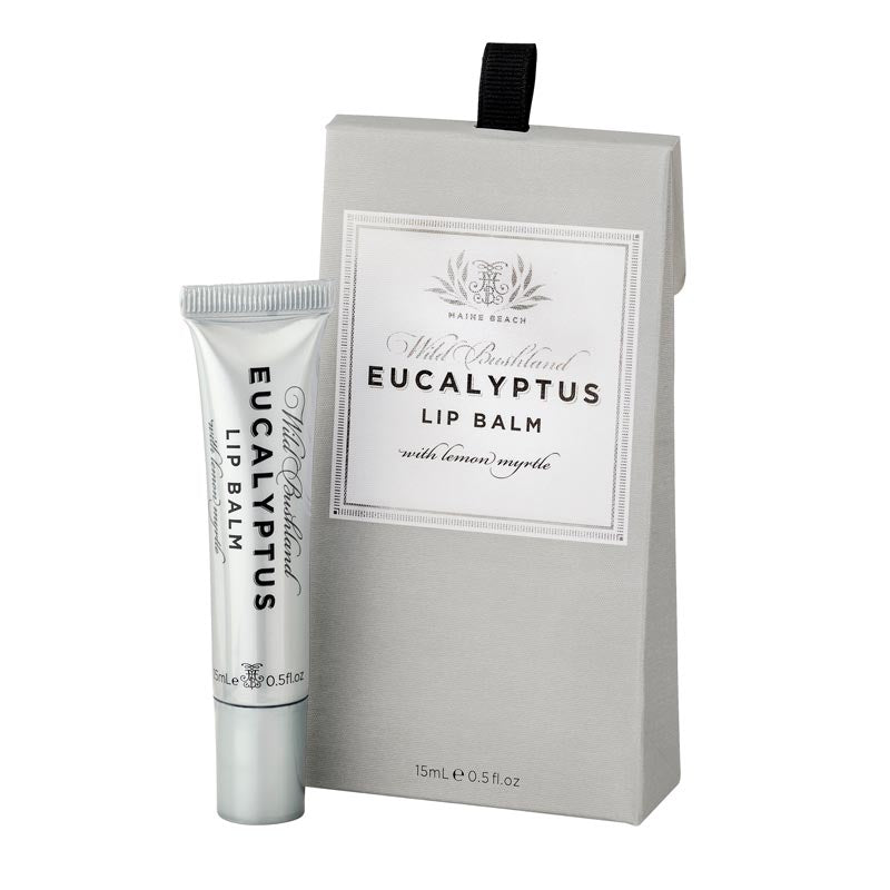 Australian Eucalyptus & Lemon Myrtle Lip Balm by Maine Beach