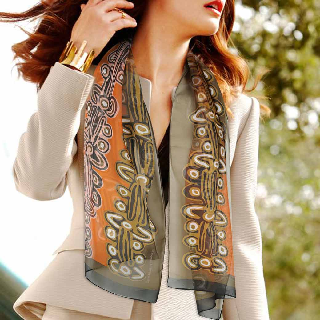 Gifts for Her, Business Gift Ideas Australia - Aboriginal Scarf