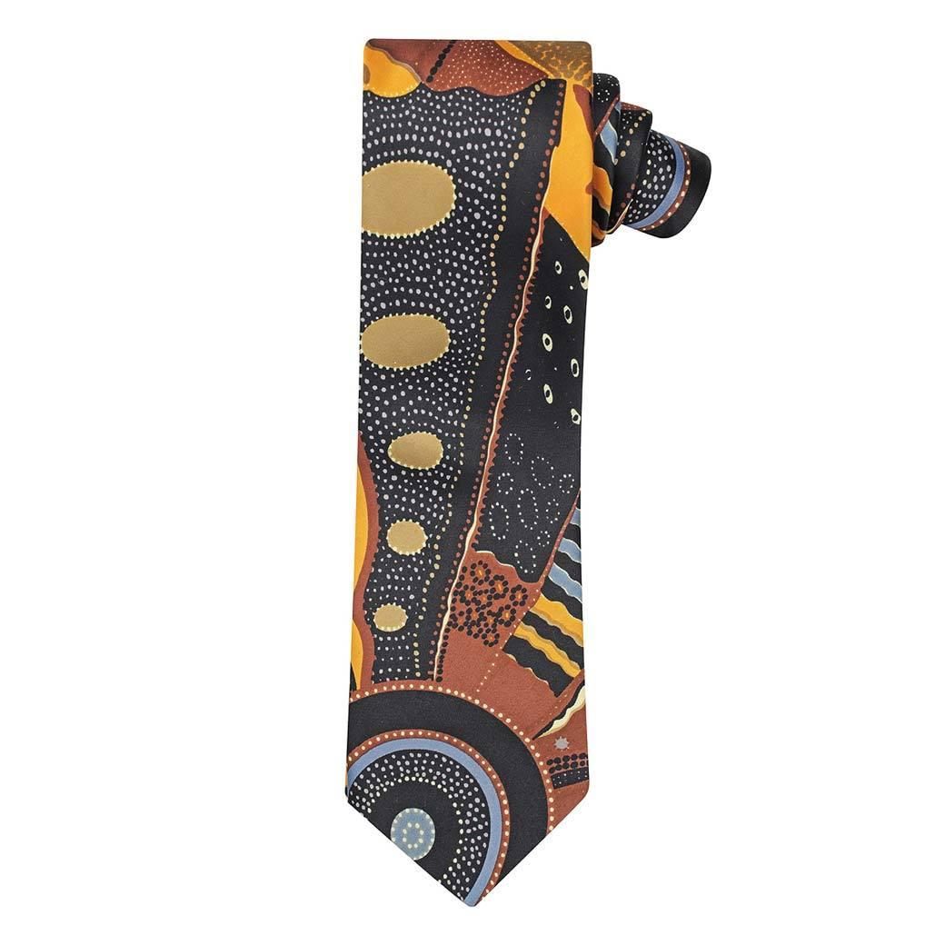 Australian Made Mens Aboriginal Ties Unique Corporate Gifts Sydney
