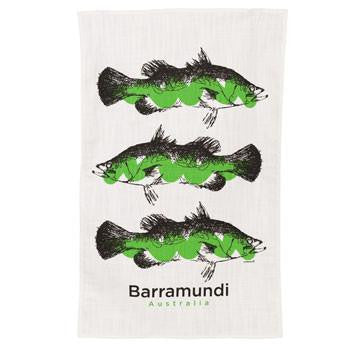 Barramundi Tea Towel
