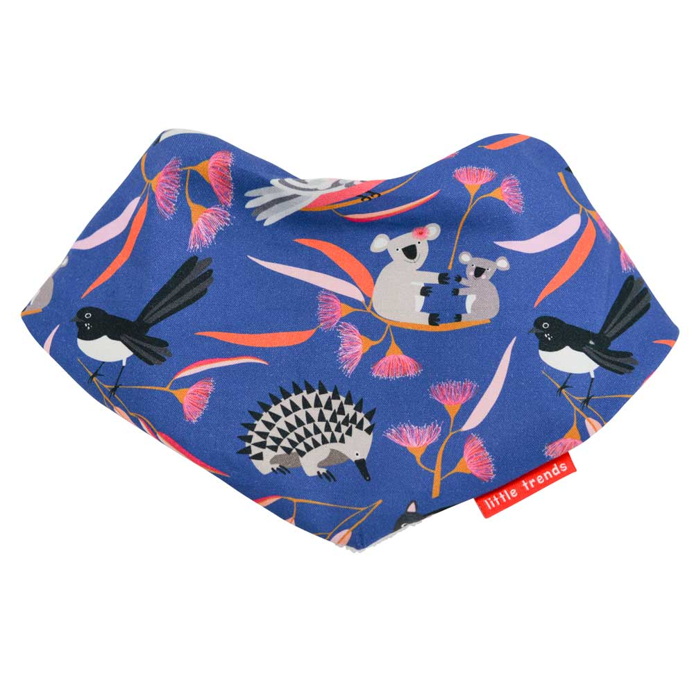 Australian Gifts for Babies Aussie Animals Bandana Bib