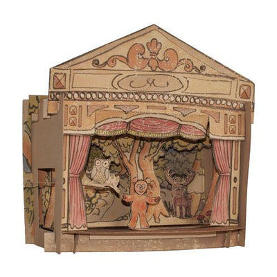 Woodland Animals Toy Theatre