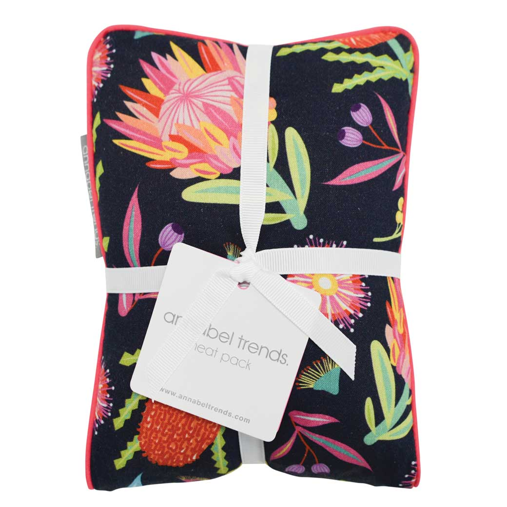 Australian gifts for women Aussie Flora heat pack made in Australia and a treat for yourself when you need to relax.