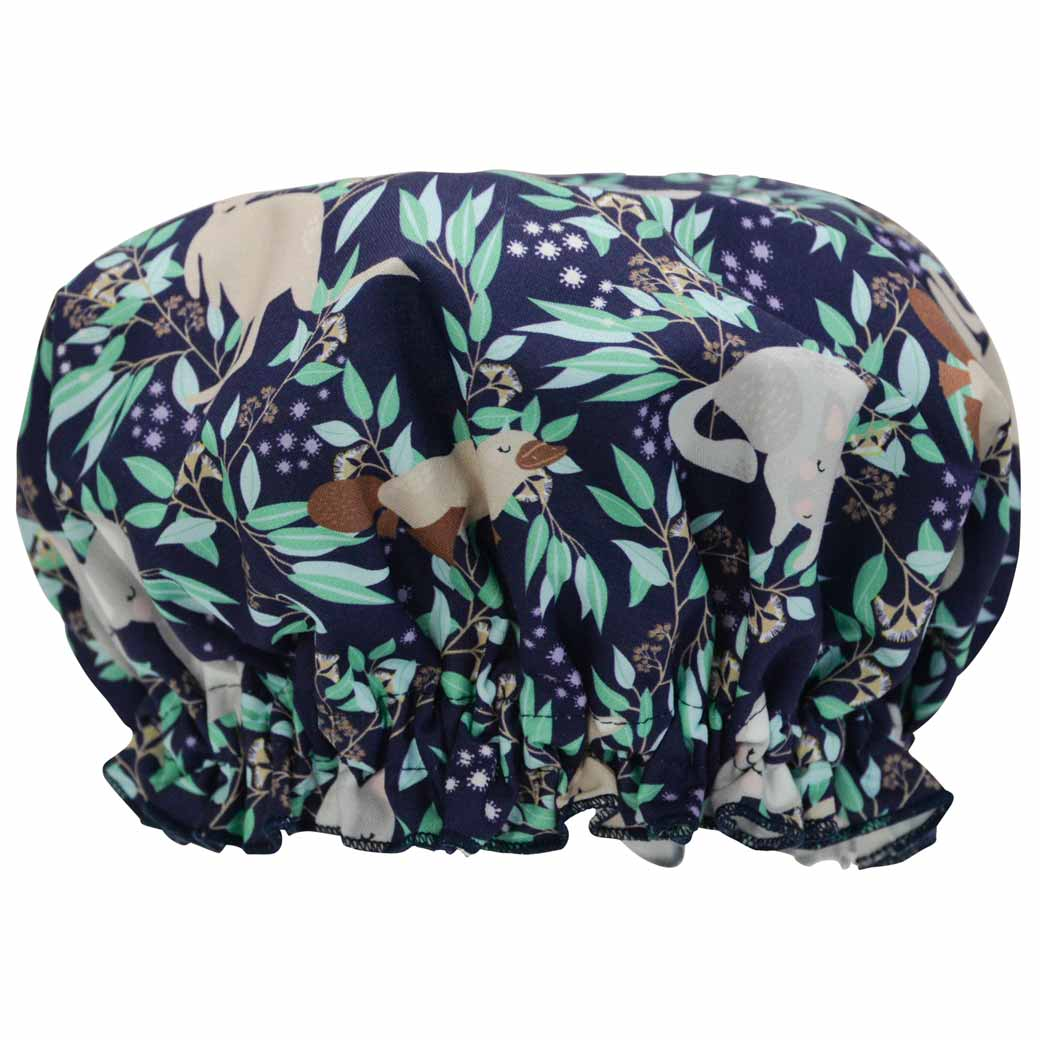 Australian Gifts for Women Shower Cap Aussie Animals