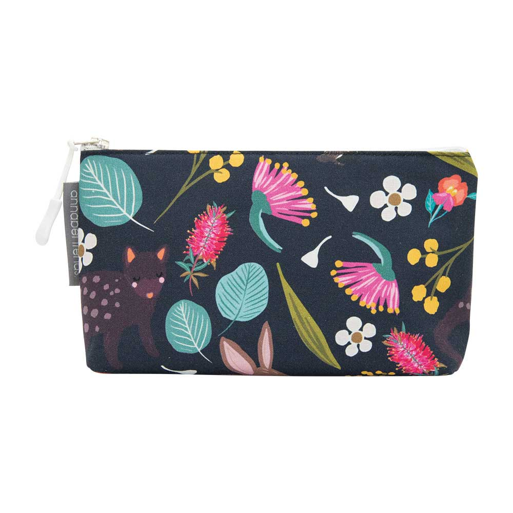 Australian Gifts for Women Small Cosmetic Bag Nocturnal Animals