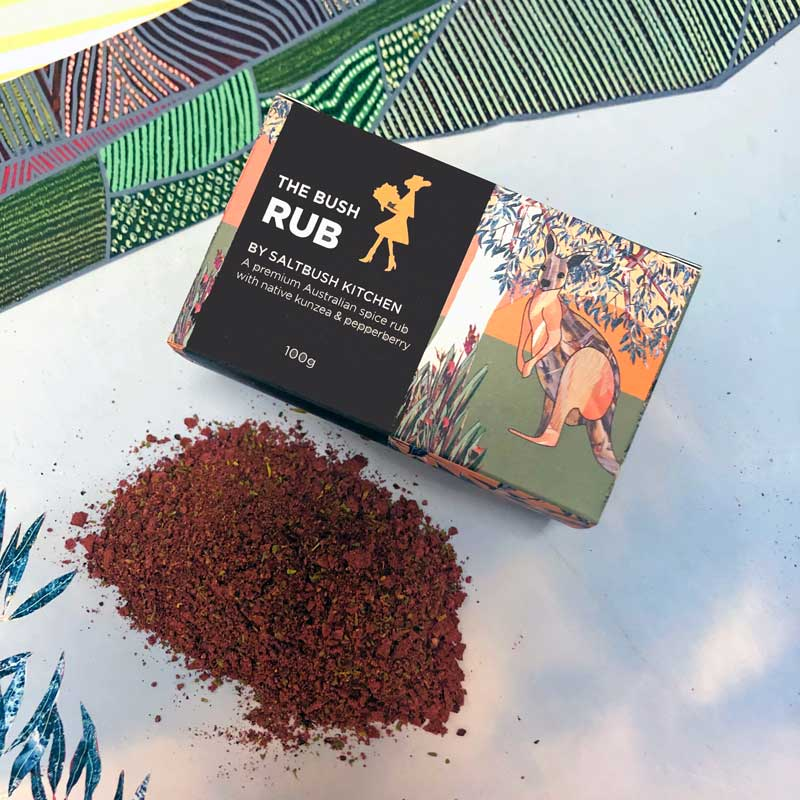 Australian Gourmet Food Gifts for Men The Bush Spice Rub