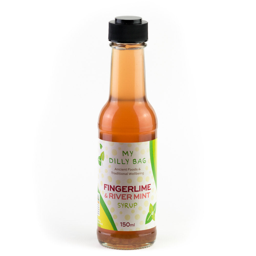 Australian Gourmet Foods Fingerlime & Rivermint Syrup