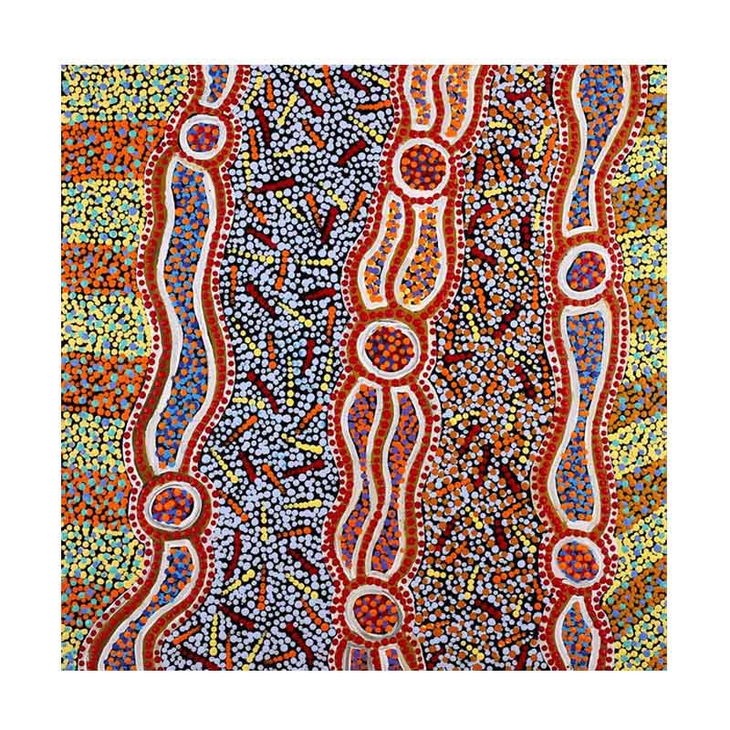 Australian souvenirs Sydney - Authentic Aboriginal Dot Art