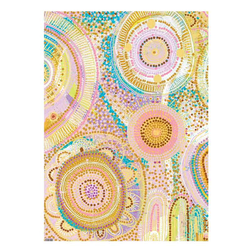 Australian-Made-Aboriginal-Wrapping-Paper-Natalie-Jade-by-Earth-Greetings