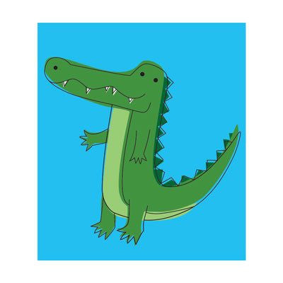 Australian Made Gifts & Souvenirs with the Crocodile Magnet -by Bits of Australia. For the best Australian online shopping for a Magnets