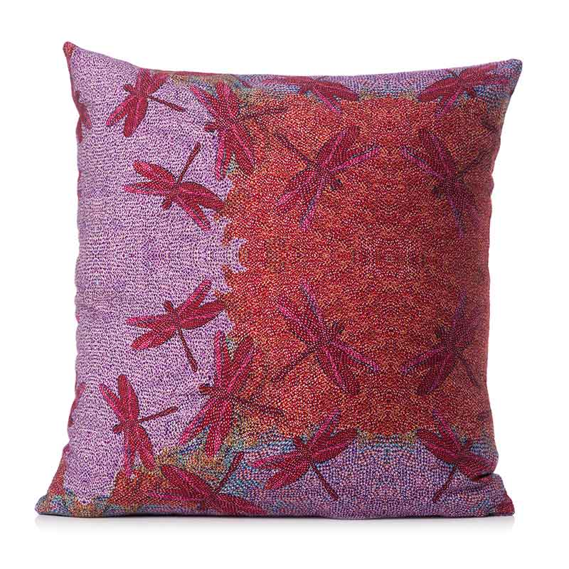 Australian Made Dragon Fly Cushion Cover