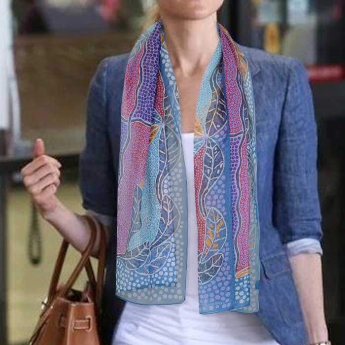 Australian print scarf for women online