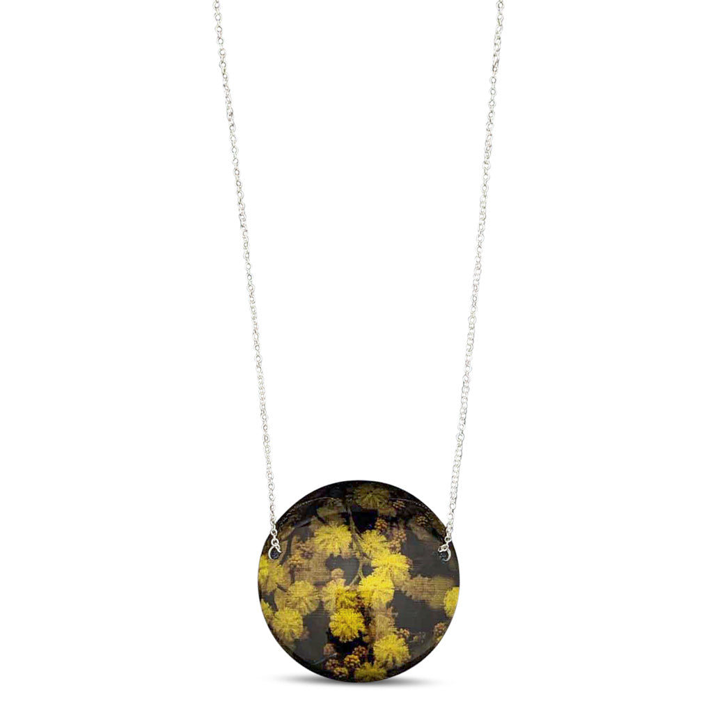 Australian Made Jewellery Wattle Necklace