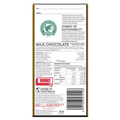 Kangaroo Bounce Milk Chocolate