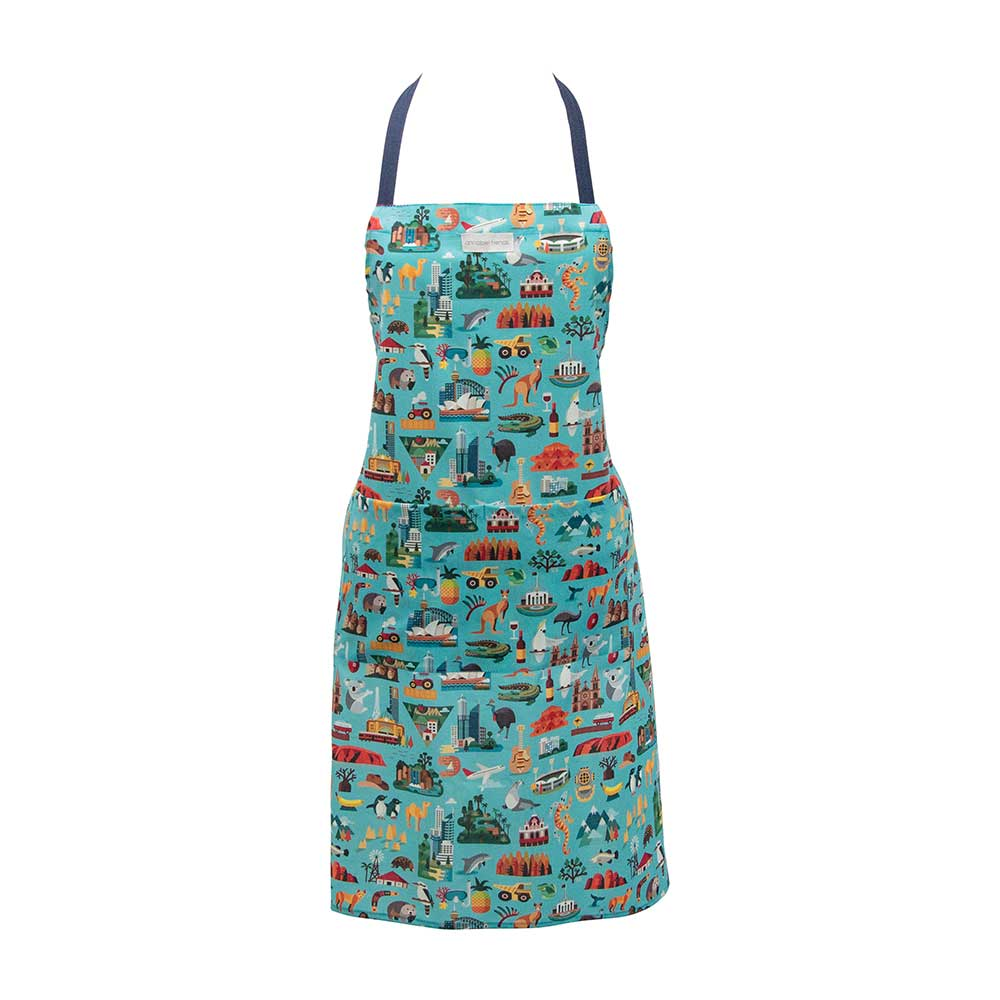 Australian Made Kitchen Apron Aussie Icon Souvenir