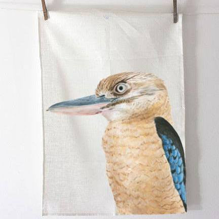 Australian Made Gifts & Souvenirs with the Kookaburra Tea Towel -by For Me By Dee. For the best Australian online shopping for a Tea Towels