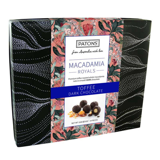 Macadamia Royals Dark Gift Box