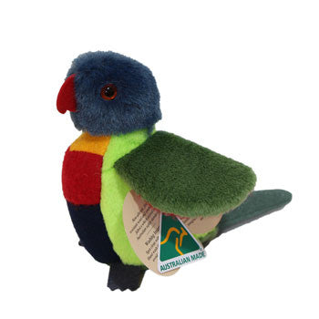 Australian Made Gifts & Souvenirs with the Rebel Rainbow Lorikeet -by Jozzies. For the best Australian online shopping for a Soft Toys - 2