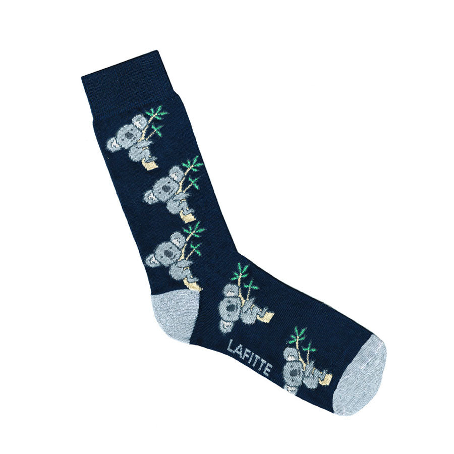 Australian Made Socks Navy Koala Gifts for Men