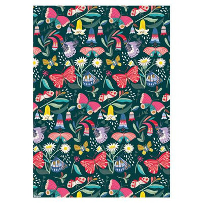 Tropical Butterflies Wrapping Paper