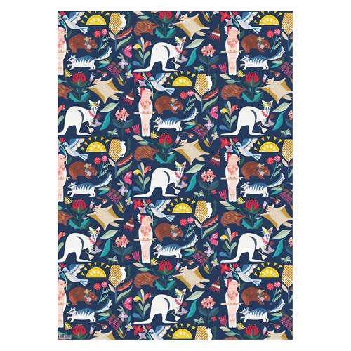 Wild Natives Wrapping Paper