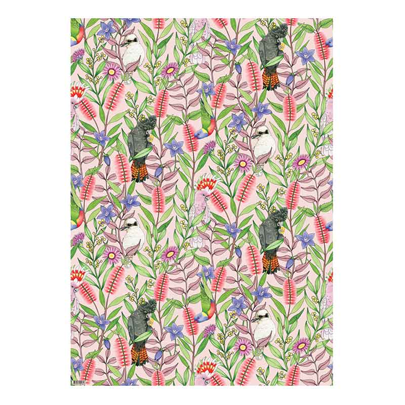 Australian Birdsong Wrapping Paper