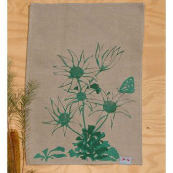 Australian Made Gifts & Souvenirs with the Flannel Flowers Tea Towel -by Laughing Bird. For the best Australian online shopping for a Tea Towels - 1
