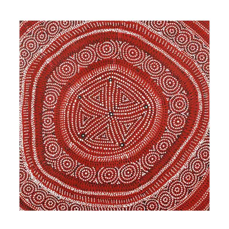 Buy Red Ethically Sourced Aboriginal Paintings That Support Indigenous Communities.
