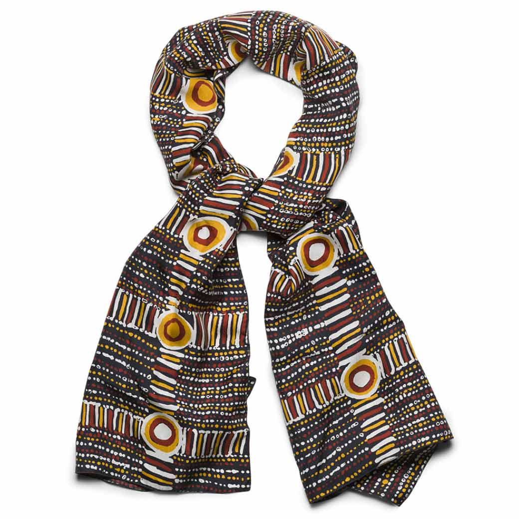 Australian fashion silk scarves for unique gifts for women for Christmas & corporate events - Australian Made