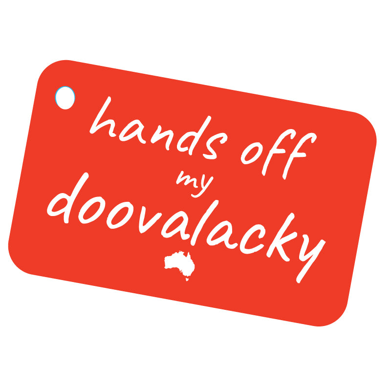 Aussie Slang Doovalacky Luggage Tag