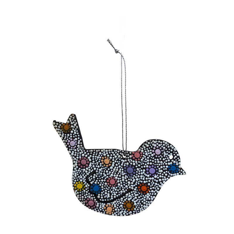 Aboriginal Art Bird Decorations