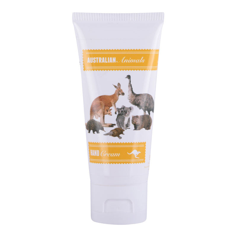 Australian Souvenir Hand Cream Aussie Animals Banks & Noble