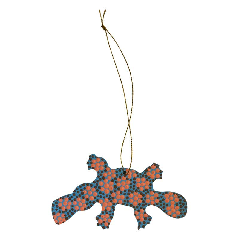 Aboriginal Art Platypus Decorations