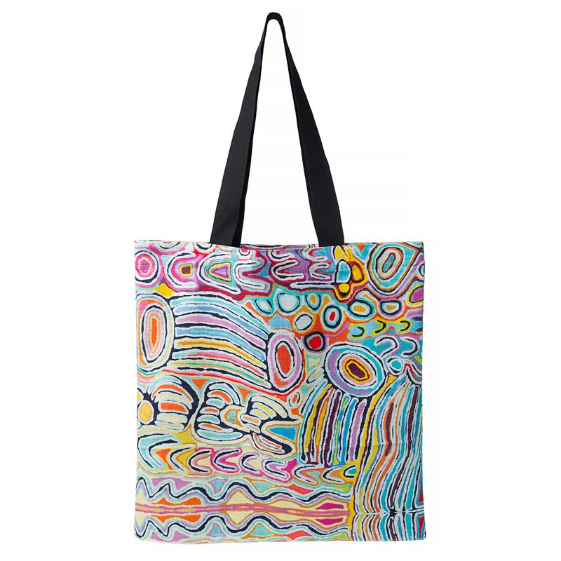 Aboriginal Souvenirs Sydney - Judy Watson Shopping Bag