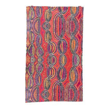 Australian Made Gifts & Souvenirs with the Liddy Walker Aboriginal Tea Towel -by Alperstein Designs. For the best Australian online shopping for a Tea Towels - 1