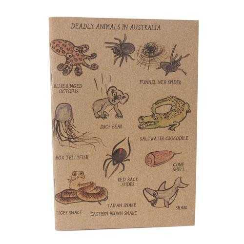 Australian Deadly Animals Notebook