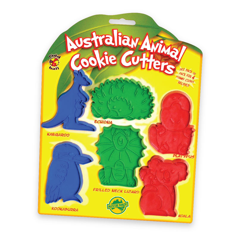 Australian Souvenirs for Kids Aussie Cookie Cutters - by Odd Ball