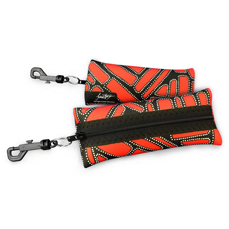 Australian Secret Santa Gifts Under $20 - Aboriginal Art Glasses Case