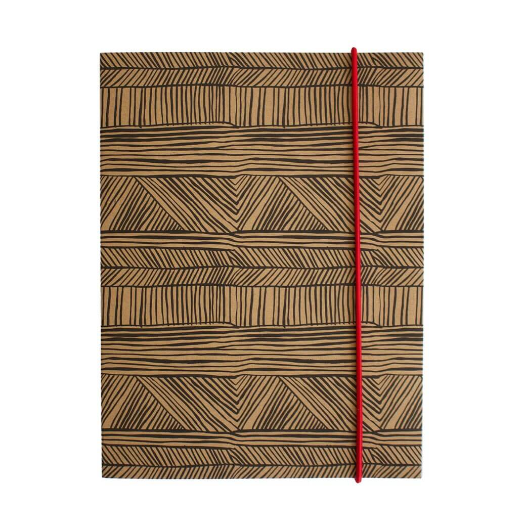 Australian Stationery Gifts for Men A5 Indigenous Notebook