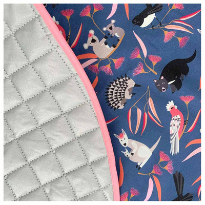 Aussie Animals Babies Playmat for Australian Made Baby Gifts