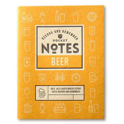 Australian Made Gifts & Souvenirs with the Beer Pocket Notes -by Wood Duck Press. For the best Australian online shopping for a Mens - 2