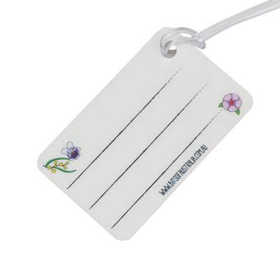 Australian Made Gifts & Souvenirs with the Australian Flowers Luggage Tag -by Bits of Australia. For the best Australian online shopping for a Luggage Tag - 2