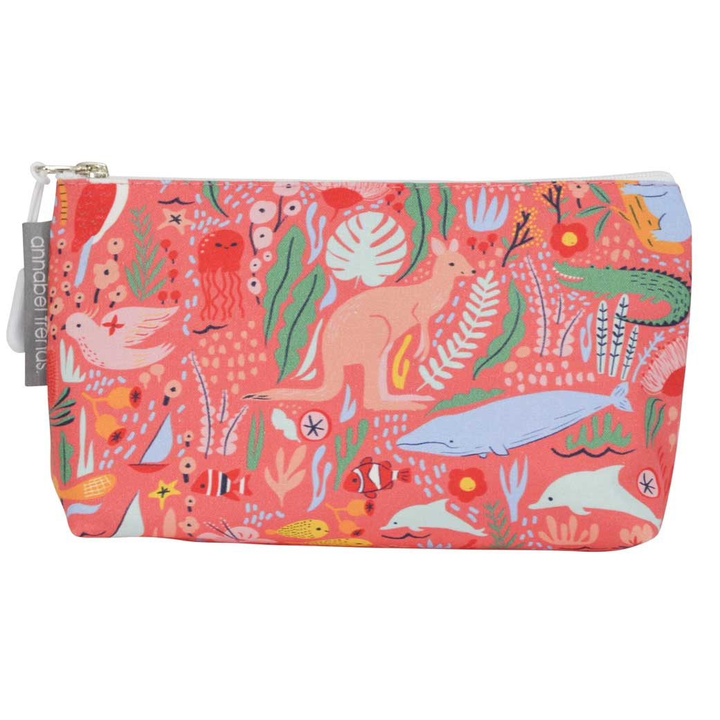 Australian Gifts for Travellers - Australiana Cosmetic Bags Made By Annabel Trends