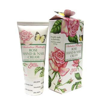 Australian Made Gifts & Souvenirs with the Rose Hand Cream -by The Linen Press. For the best Australian online shopping for a Skin Care - 1