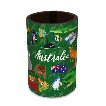 Australiana Can Cooler