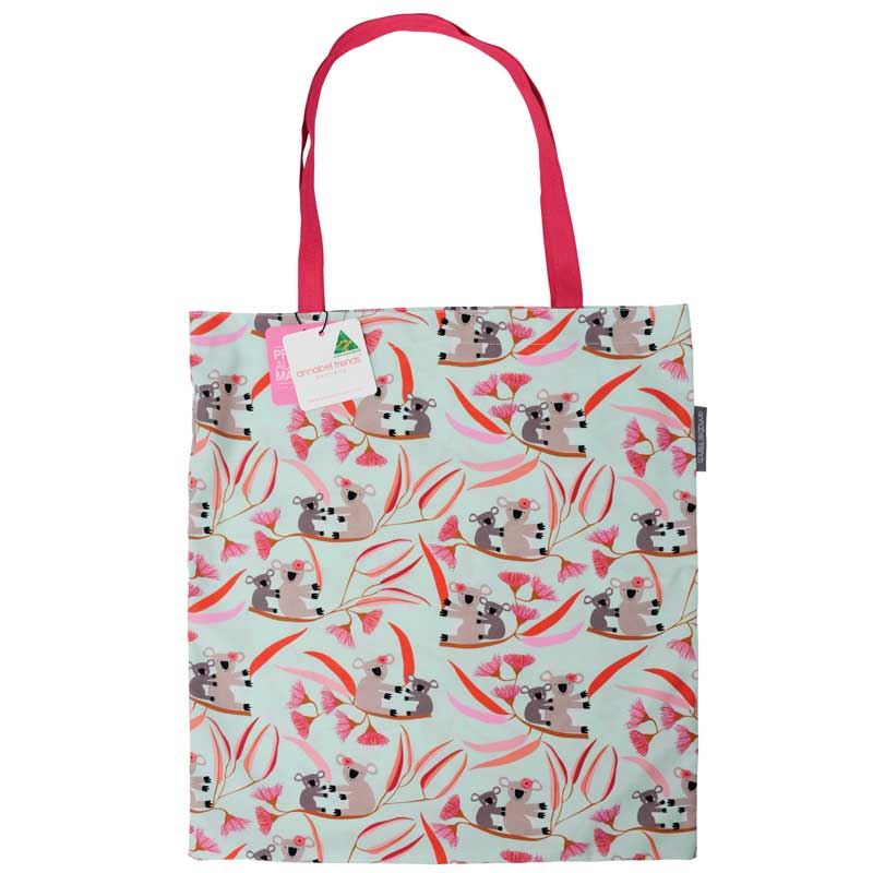 Reusable shopping bags Australian made Koala design